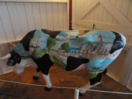 Painted Cow: Flying Horses, Oak Bluffs